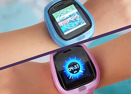Image 3 - Little Tikes Smartwatch pour enfants Tobi le Robot avec caméras, vidéos, jeux et activités – Rose