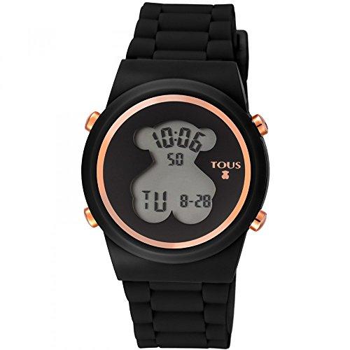 Reloj TOUS digital 700350320-Bear de acero IP rosado con cor