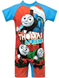 Thomas and Friends Boys' Thomas The Tank Engine Swimsuit Multicolor Size 2T