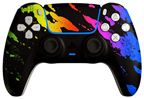 AimControllers PS5 Custom DualSense Wireless Controller, PlayStation 5 Personalized Gamepad - Camo Color