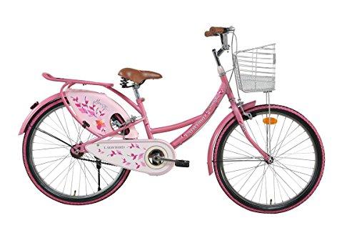 BSA Ladybird Breeze 24T Steel Pink Bike/Bicycle for Girls and Ladies