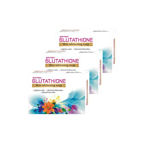 Biotrex Nutraceuticals Skin Whitening Soap, 75 gm -Combo Pack of 3