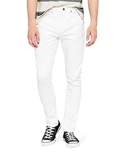 Amazon-Marke: find. Herren Slim Jeans Fnd0001am, Weiß (White), 33W /...