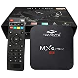 TONZO™ Genuine TERABYTE MXQ Pro Android 10.0 TV Box 2020 Upgraded Version Ram 2GB ROM 16GB All Winner H3 HD Wi-Fi Home Media Player Support: jio TV, Thop TV, Netflix, etc