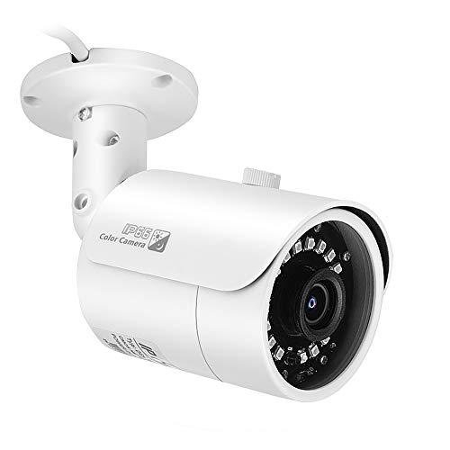 Telecamera di sicurezza domestica, videocamera H.265 + HD Smart da 3.0 MP con rilevamento del movimento IP66 Visione notturna resistente alle intemperie Riduzione del rumore 3D