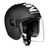 An ideal fit for riders who look for the classic MLG signature style and ease of an open face helmet with a face long visor Shell construction: Strength of single unit ABS shell Visor Style: Demi-jet open face with a long visor Visor Construction- Ha...
