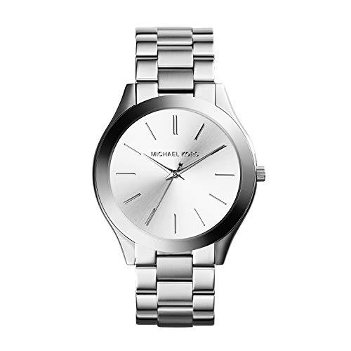 Michael Kors Damen Analog Quarz Uhr mit Edelstahl Armband MK3178