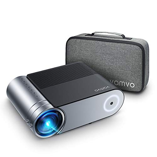 """Mini Projector, Vamvo L4200 Portable Video Projector, Full HD 1080P 200"""" Display Supported;..."""