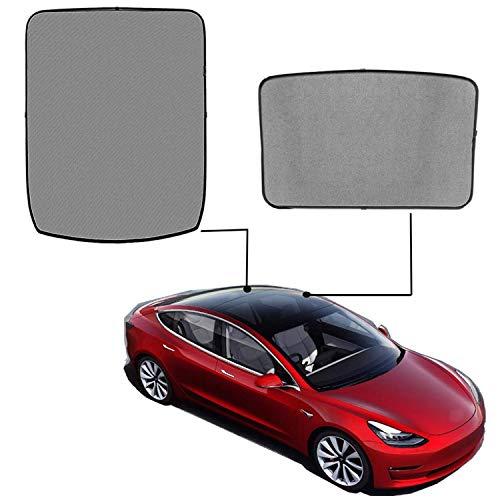 topfit Model 3 Sombrilla plegable Sombrilla panorámica Sombrilla para Tesla Model 3