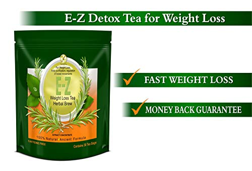 E-Z WEIGHT LOSS DETOX TEA - BELLY FAT - APPETITE CONTROL - BODY CLEANSE – COLON DETOX – WEIGHT LOSS 2