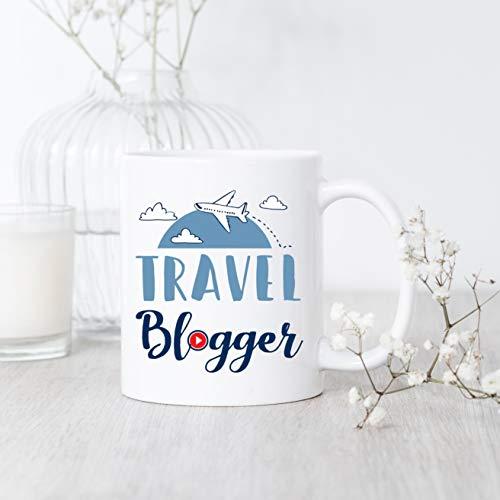 Mug Blogger Voyage Blogger Mug Voyage Blogger Blogger Cadeau Voyage Blogger...