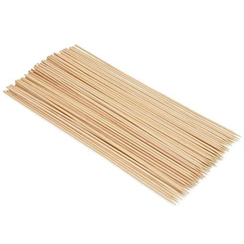 EUROXANTY® Brochetas de Madera de Bambú | Pinchos Perfecto