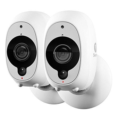 Swann Telecamera di Sorveglianza Smart, Videocamera di Sicurezza Wireless 1080p Full HD con Sensore di Calore/Movimento PIR True Detect, Visione Notte e Audio