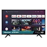 Hisense 40-Inch 40H5500F Class H55 Series Android Smart TV with Voice Remote (2020 Model)