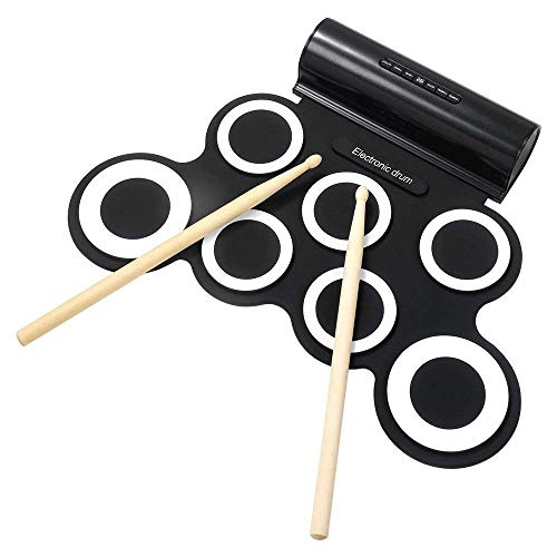 Powerpak G3001A Electronic Drum Pad (Black/White)