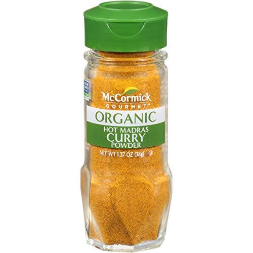 McCormick Gourmet Organic Hot Madras Curry Powder, 1.37 oz