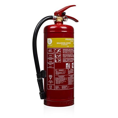 Smartwares fex-15230(sb3.4) estintore a schiuma per fuochi di tipi ab SB2–, Rosso, 2kg