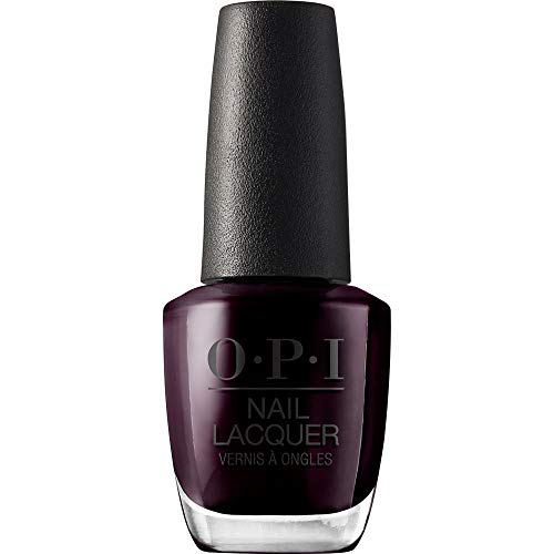 OPI Nail Polish, Nail Lacquer, Black Cherry Chutney, Dark Red, 0.5 Fl Oz