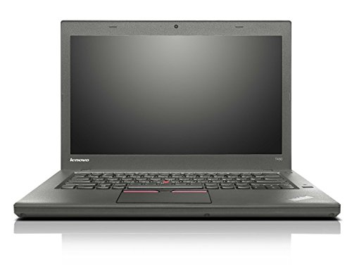 Lenovo ThinkPad T450 14in HD Business Laptop Computer, Intel Dual-Core i5-5300U Up to 2.9GHz, 8GB RAM, 256GB SSD, HDMI, 802.11ac WiFi, Bluetooth, Windows 10 Professional (Renewed)