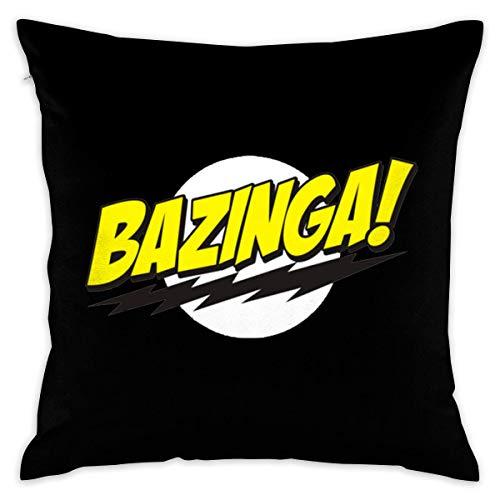 Bazinga The Big Bang Theory Decorative Lumbar Pillow Covers Case Pillowcases Fundas para Almohada (45cmx45cm)