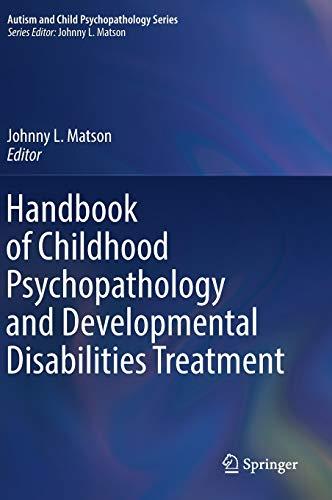 Handbook of Childhood Psychopathology and Developmental...