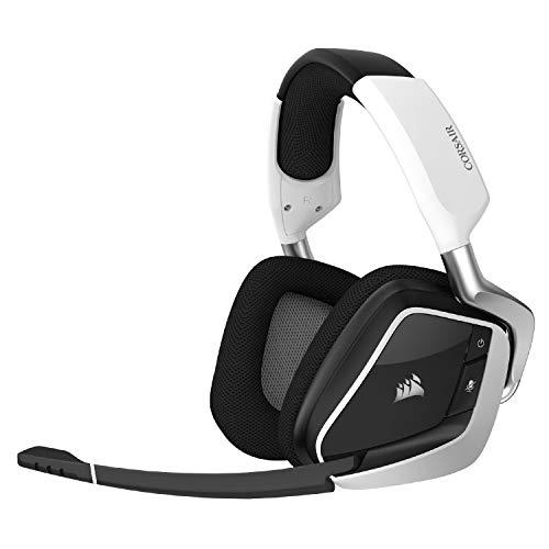 Corsair VOID RGB Elite Wireless Premium Gaming Headset with 7.1 Surround Sound - Discord Certif…