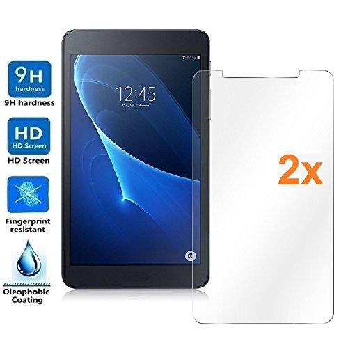 Pack 2X Pellicola salvaschermo per Universal 7', Misura 17,9 x 10 cm, Pellicole salvaschermo Vetro Temperato 9H+, di qualità Premium Tablet, Elettronica Rey