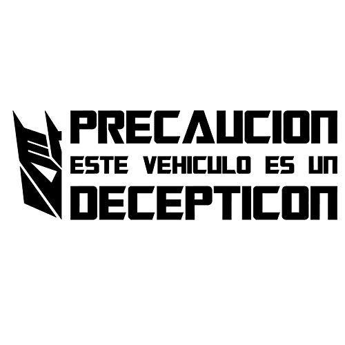 Custom Vinyl Pegatina Coche Transformers (ESP - Decepticon)
