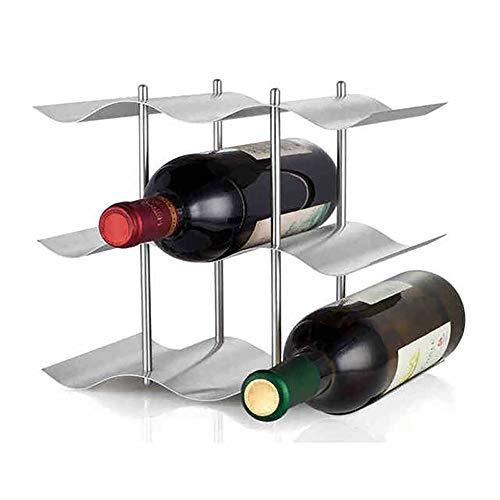 SXGKY Borsa per la conservazione della Bottiglia di Vino Cantinetta Portabottiglie in Acciaio Inox...