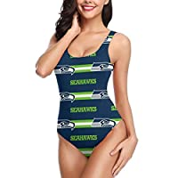 """Material: One Piece Swimsuit 82% Polyester 18% Spandex, comfortable,lightweight thin, skin-friendly, fast-drying. One Piece Swimsuit,Please Go Through It Before Making A Purchase : Small Size (INCH) :Bust 30.5""""-31.5"""", Waist 26""""-27"""", Hip 29.5""""-30.5"""", ..."""