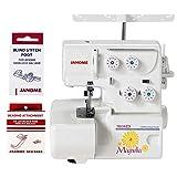 Janome Magnolia 7034D Serger Sewing Machine w/2-Piece