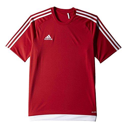 adidas Jungen Estro 15 Trikot, Power Red/White, 116