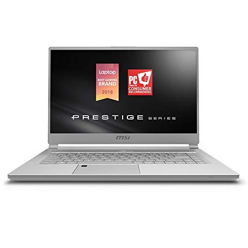 MSI P65 Creator 8RE-020 Thin Bezel Gaming/ Productivity Laptop 15.6' 100% sRGB Display GTX 1060 6G i7-8750H 16GB 512GB NVMe SSD  Win 10 PRO, Aluminum Silver