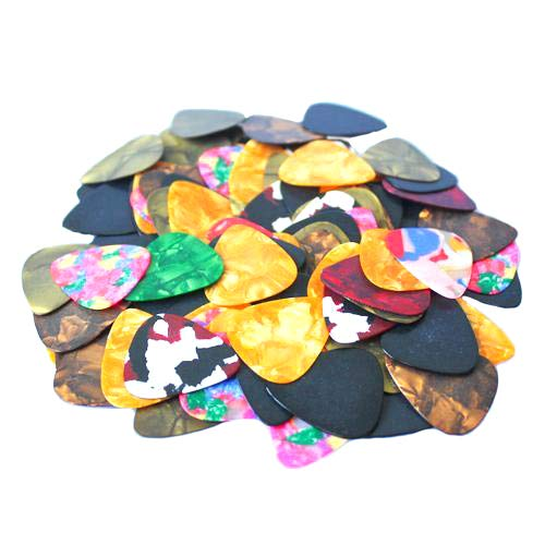 New year's Gift 20 Pcs Thin Acoustic Electric Guitar Picks Plectrum 2 Thickness 0.46mm/0.71mm - 0.71 mm rycnet