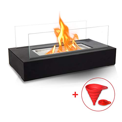 BRIAN & DANY Tabletop Portable Bio Ethanol Fireplace