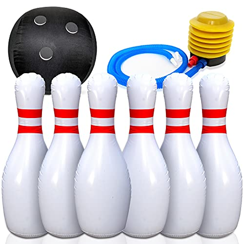 5. Etna Giant Inflatable Bowling Set
