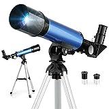 Télescope Astronomique, Télescope Enfants F36050M, avec Oculaires H6mm et...