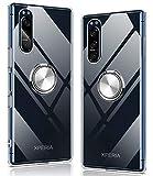 Sony Xperia5 II ケース クリア リング付き Xperia5 II カバー エクスペリア5 ii ケース 透明 ……