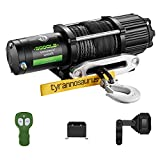 Tyrannosaurus 5000 lb. ATV/UTV Electric Synthetic Winch Kit with Wireless Remote Mounting Plate