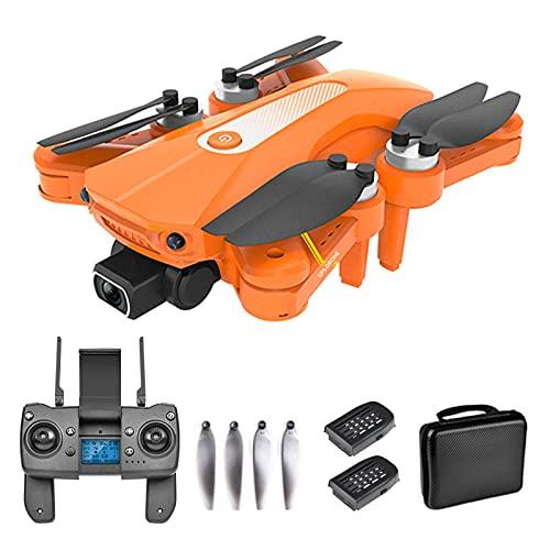 J-Clock Drone Pieghevole 8K HD, quadricottero RC, droni GPS con Fotocamera, quadricottero FPV Mini 5G WiFi con Motore brushless
