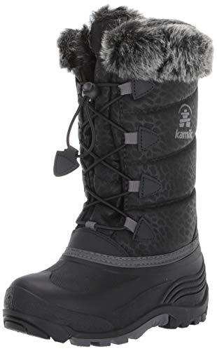 Kamik Girl's Snowgypsy3 Boot, Black, 13 M US Little Kid