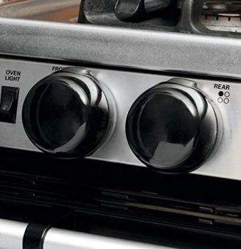 Superior Brands Child Safety Gas Stove Knob Covers Pack of 5 (Black)