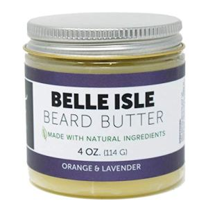 Detroit Grooming Co. - 4 oz. Beard Butter Double The Size - Belle Isle All-Natural - Beard Balm