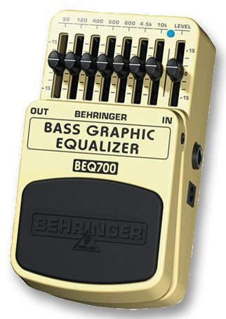 BEHRINGER BEQ700 GUITAR PEDAL- BASS GRAPHIC EQ - Pack of 1