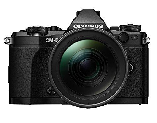OLYMPUS ミラーレス一眼 OM-D E-M5 MarkII 12-40mm F2.8 レンズキット ブラック E-M5 MarkII 12-40mm F2.8 PRO LK BLK