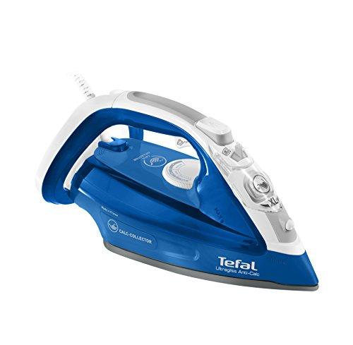 Tefal FV4964E0 Ultragliss Anticalc Ferro a Vapore con Sistema Anticalcare, Blu