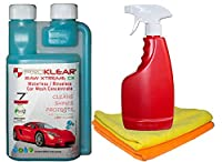 PROKLEAR RAW Xtreme CX Kit with Waterless Concentrate, Spray bottle, 2 pieces Microfiber towels. Start your own Waterless Car Cleaning - Startup Kit. For Cars, Bikes, Scooters etc., Certified: RoHS 2 (cert. No. 5266 TuV Labs)- No hazardous chemicals ...