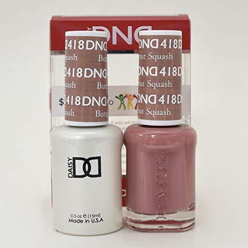 DNDDuo Gel (Gel & Matching Polish) Spring Set 418 Butternut Squash