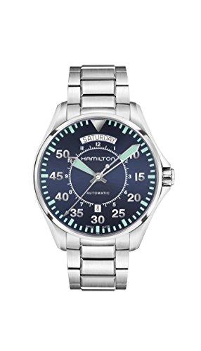 Hamilton Herren-Armbanduhr 42mm Armband Edelstahl Automatik H64615145