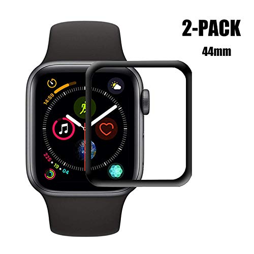 Apple Watch Series 3 42mm Screen Protector [2 - Pack] iWatch 3 Screen Protector, Anti-Scratch Resistant Full Coverage Scratch-Proof Screen Film Compatible Apple iWatch 42mm Series 3/2/1